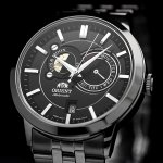 Orient FET0P002B0 zegarek męski Contemporary srebrny