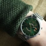 Orient FEU00002FW zegarek męski Contemporary srebrny