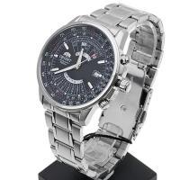 Orient FEU07005BX Sports klasyczny zegarek srebrny