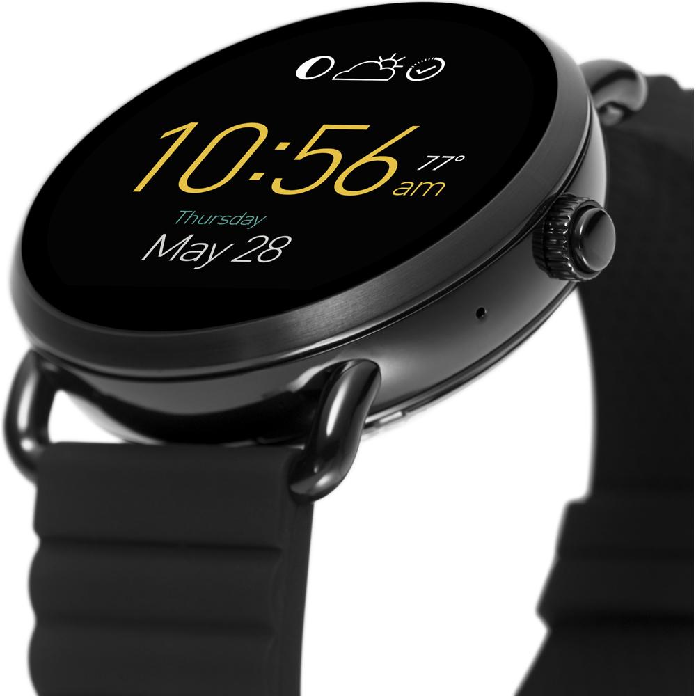 Fossil Smartwatch FTW2103 Fossil Q Q Wander Smartwatch zegarek damski fashion/modowy mineralne