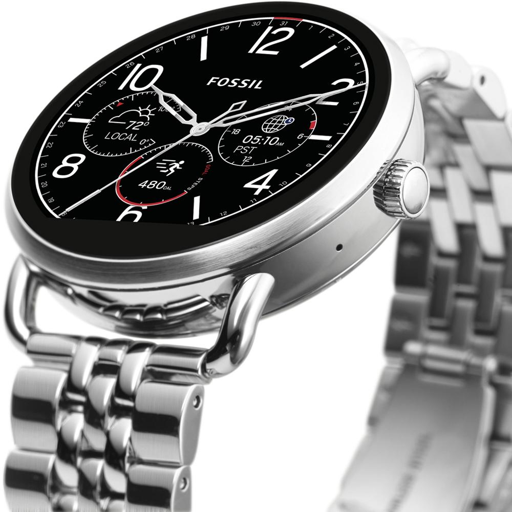 Fossil Smartwatch FTW2111 Fossil Q Q Wander Smartwatch zegarek damski fashion/modowy mineralne