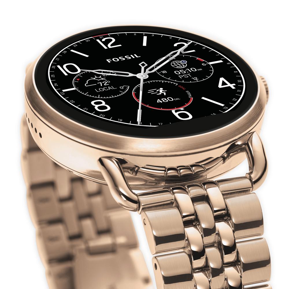 Fossil Smartwatch FTW2112 Fossil Q Q Wander Smartwatch zegarek damski fashion/modowy mineralne