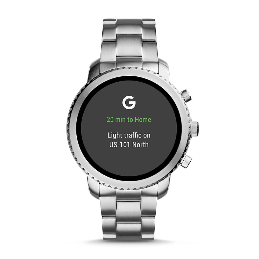 Fossil Smartwatch FTW4000 Fossil Q Gen 3 Smartwatch Q Explorist zegarek męski fashion/modowy mineralne