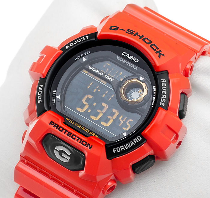 G-Shock G-8900A-4ER G-Shock zegarek męski sportowy mineralne