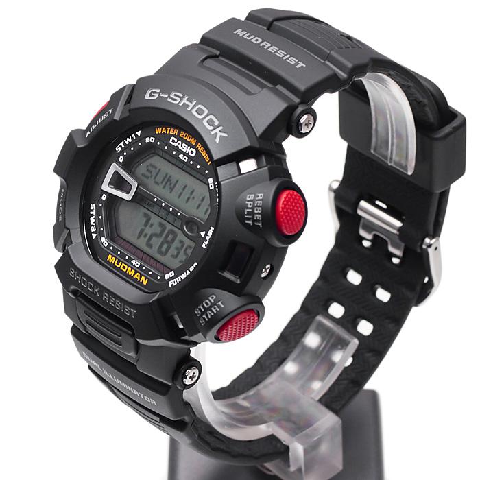 Casio G-9000-1V G-SHOCK Master of G MUDMAN zegarek męski sportowy mineralne