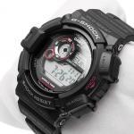 G-Shock G-9300-1ER MUDMAN G-SHOCK Master of G sportowy zegarek czarny