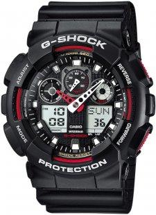 G-SHOCK GA-100-1A4ER - zegarek męski