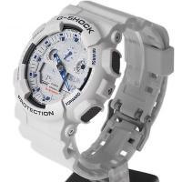 G-Shock GA-100A-7AER męski zegarek G-SHOCK Original pasek