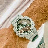 GA-100DE-2AER - zegarek męski - duże 5