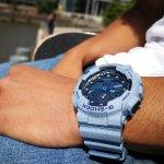 GA-100DE-2AER - zegarek męski - duże 7