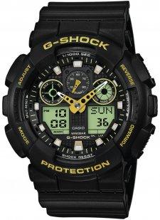 G-SHOCK GA-100GBX-1A9ER - zegarek męski