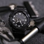 G-Shock GA-110BT-1AER G-SHOCK Specials BLACK OUT zegarek męski sportowy mineralne