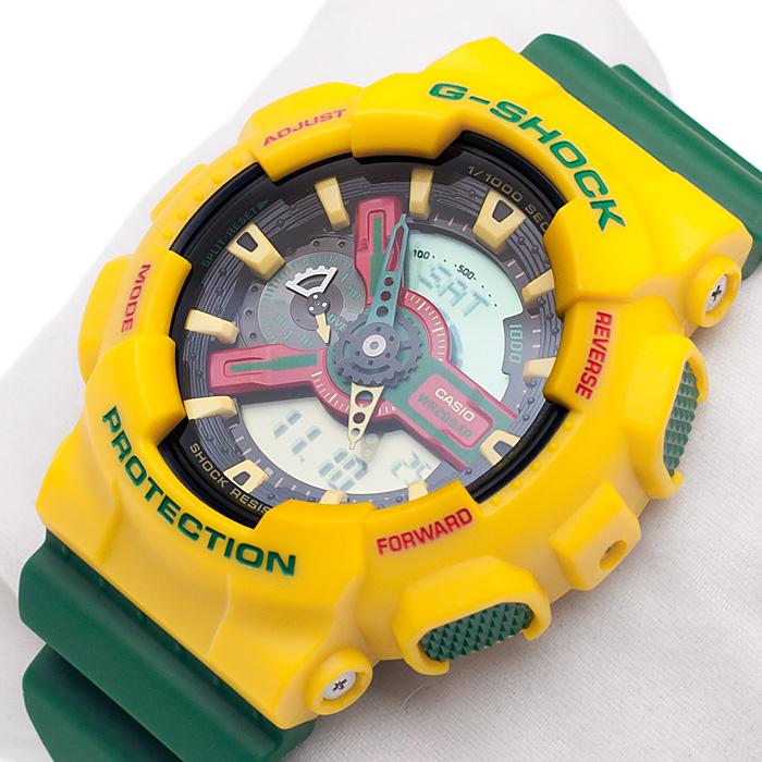 G-Shock GA-110RF-9AER G-Shock zegarek męski sportowy mineralne
