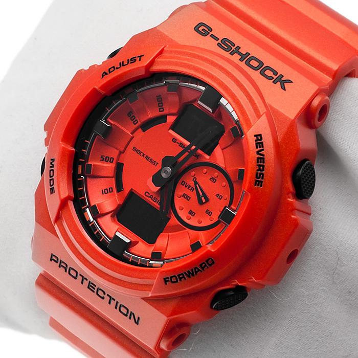 G-Shock GA-150A-4AER G-Shock zegarek męski sportowy mineralne