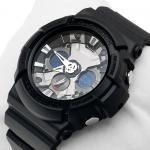 G-Shock GA-201-1AER G-Shock zegarek męski sportowy mineralne