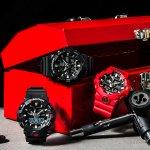 GA-700-1BER - zegarek męski - duże 7