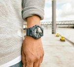 G-Shock GA-700DE-2AER G-SHOCK Style DENIM zegarek męski sportowy mineralne