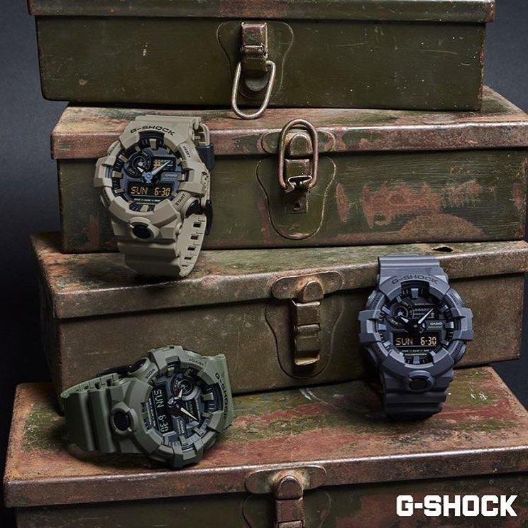 G-Shock GA-700UC-5AER G-SHOCK Original NO COMPLY UTILITY COLOR zegarek męski sportowy mineralne
