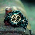 G-Shock GA-710GB-1AER zegarek męski sportowy G-SHOCK Style pasek