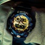 zegarek G-Shock GA-710GB-1AER czarny G-SHOCK Style