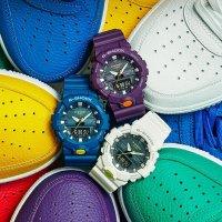 G-Shock GA-800SC-2AER zegarek niebieski sportowy G-SHOCK Specials pasek