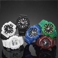 GAX-100A-7AER - zegarek męski - duże 5