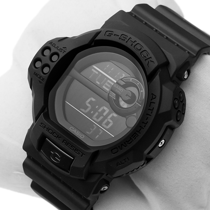 G-Shock GDF-100BB-1ER zegarek G-Shock z barometr
