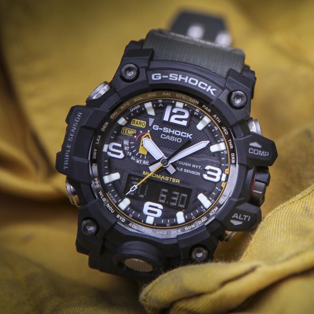 G-Shock GWG-1000-1A3ER zegarek japońskie G-SHOCK Master of G