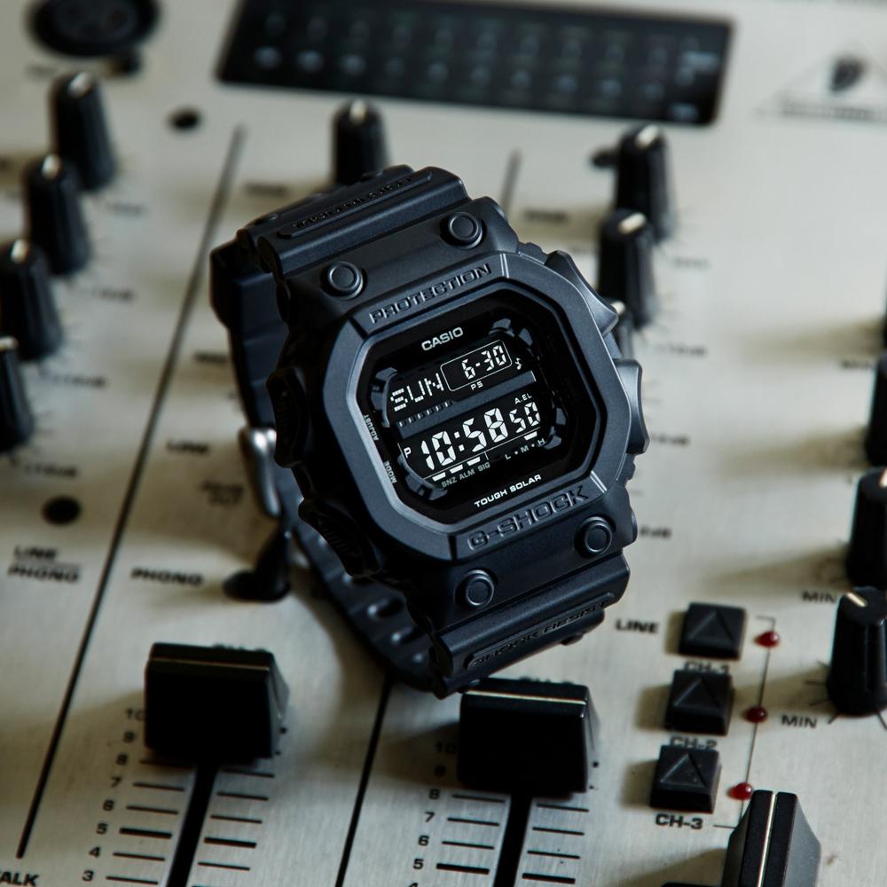 zegarek G-Shock GX-56BB-1ER solar męski G-SHOCK Original KING OF G IN BLACK