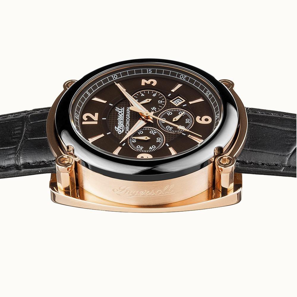 zegarek Ingersoll I01202 czarny The Michigan