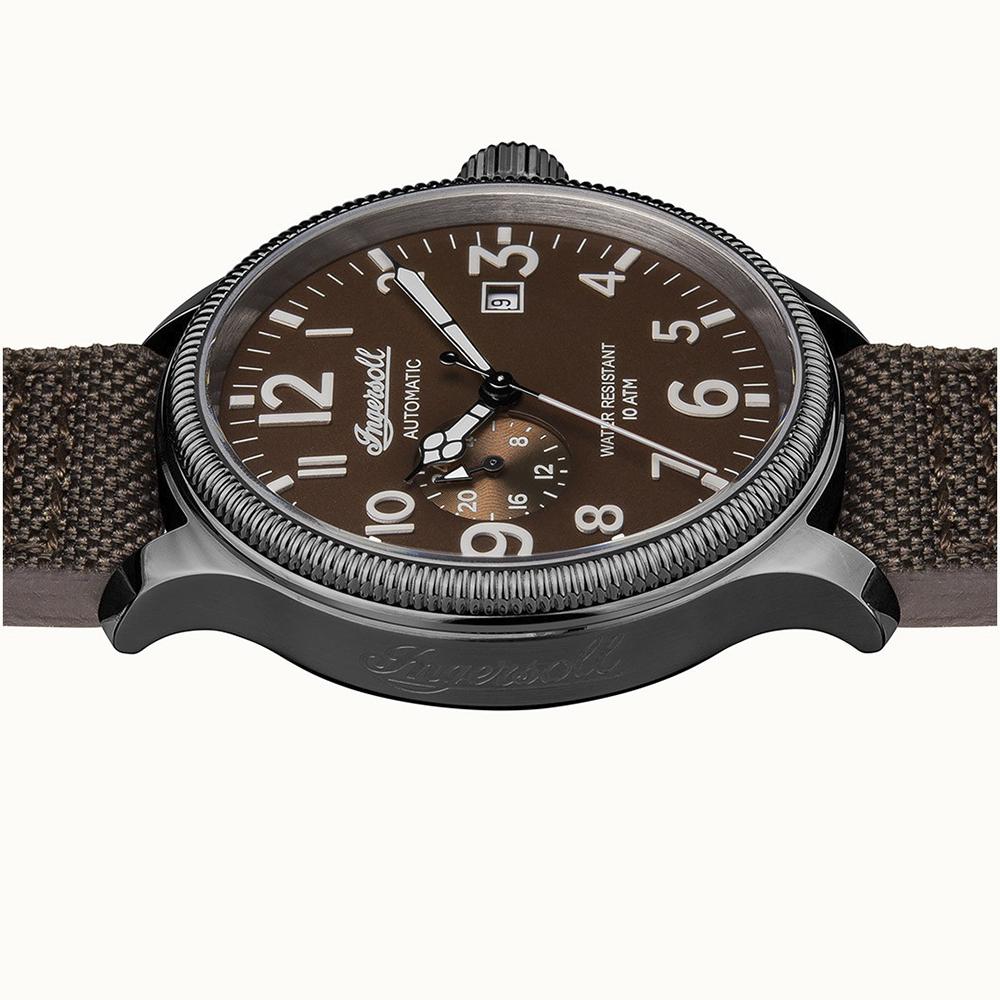 zegarek Ingersoll I02803 szary The Apsley