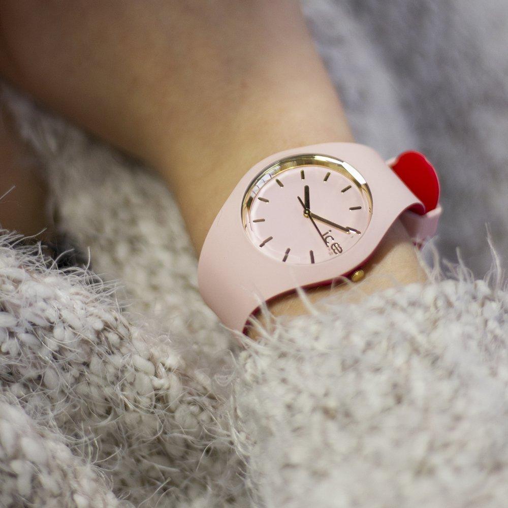ICE Watch ICE.007244 zegarek czerwony fashion/modowy ICE-Loulou pasek
