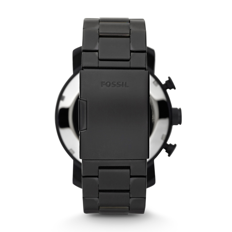 Fossil JR1356 NATE Trend klasyczny zegarek szary