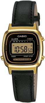 Casio LA-670WEGL-1EF - zegarek damski
