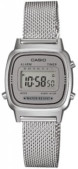 Casio LA670WEM-7EF - zegarek damski