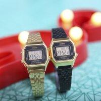Casio Vintage LA680WEGA-1ER damski zegarek VINTAGE Midi bransoleta
