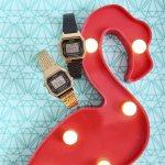 zegarek Casio Vintage LA680WEGA-1ER złoty VINTAGE Midi