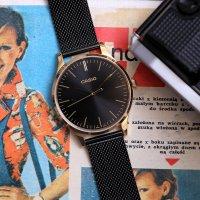 Casio Vintage LTP-E140GB-1AEF zegarek złoty fashion/modowy VINTAGE Instashape bransoleta