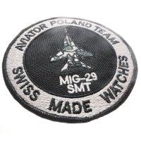 Aviator M.2.30.0.219.6 MIG-29 SMT Chrono Mig Collection sportowy zegarek srebrny
