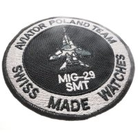 Aviator M.2.30.5.215.6 Mig Collection MIG-29 SMT Chrono zegarek męski sportowy szafirowe