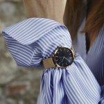 Rosefield MBR-M45 Mercer Mercer fashion/modowy zegarek różowe złoto