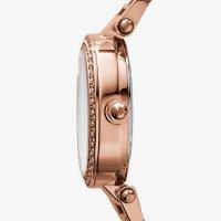 Michael Kors MK5616 zegarek różowe złoto fashion/modowy Parker bransoleta