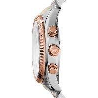 Michael Kors MK5735 zegarek srebrny fashion/modowy Lexington bransoleta