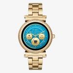 Michael Kors MKT5021 SOFIE Smartwatch Access Smartwatch fashion/modowy zegarek złoty
