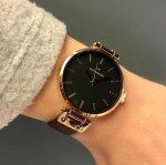 Mockberg MO115 Original VILDE BLACK zegarek damski klasyczny mineralne