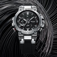 G-Shock MTG-B1000-1AER G-SHOCK Exclusive METAL TWISTED G 2-WAY SYNC smartwatch męski sportowy szafirowe
