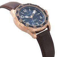 Zegarek Nautica Pilot House Navy Dial Leather Watch - męski  - duże 7