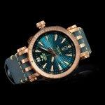 Vostok Europe NH35A-575O286 Energia Rocket Rocket Bronze zegarek męski luksusowy mineralne utwardzane