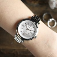 Zegarek damski DKNY bransoleta NY2582 - duże 4