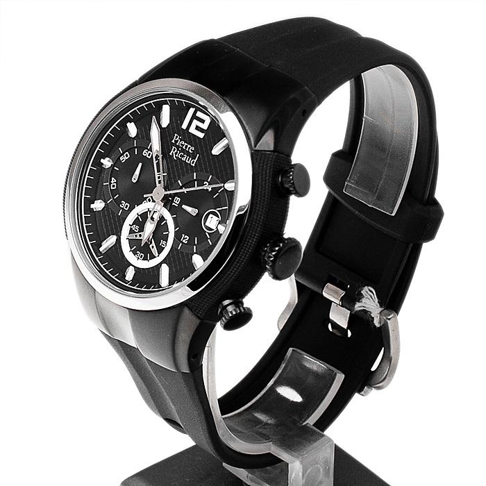 zegarek Pierre Ricaud P12239.5254CH męski z chronograf Pasek